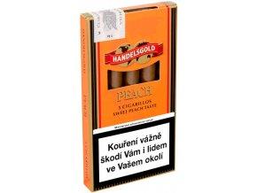 Handelsgold Cigarillos Peach 5ks