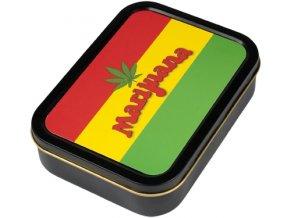 Hranatá krabička na tabák RASTA velká