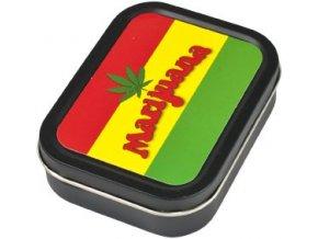 Hranatá krabička na tabák RASTA malá