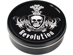 Kulatá krabička na tabák REVOLUTION