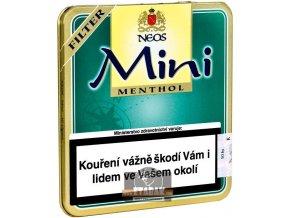 Neos Mini Cigarilos Menthol Filter 10ks