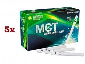 5x Práskací dutinky CLICK MENTHOL - filtr 20mm!