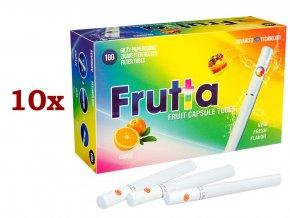 Práskací dutinky FRUTTA ORANGE - filtr 20mm! (10x)