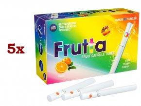 Práskací dutinky FRUTTA ORANGE - filtr 20mm! (5x)