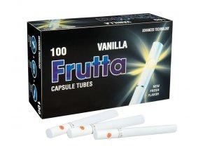 Práskací dutinky FRUTTA VANILLA - filtr 20mm!