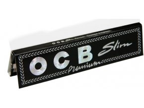 Filtry a papírky OCB Slim Premium KS
