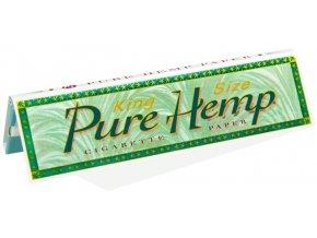 Cigaretové papírky Pure Hemp KS