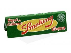 Papírky Smoking Green 1 1/4