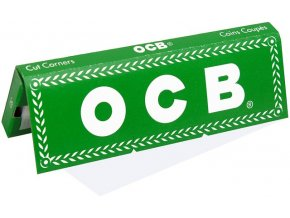 ocb green no8 cigaretove papirky