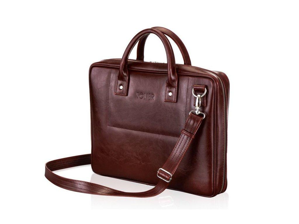Pánská kožená taška přes rameno Solier