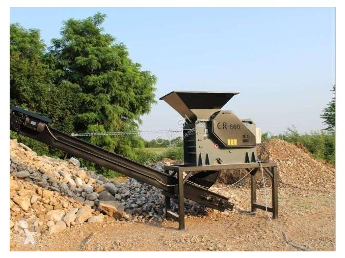 Mini drtička stavebního odpadu CR 400