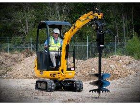 mini excavator a4 large