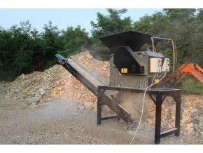 Mini drtička stavebního odpadu CR 600