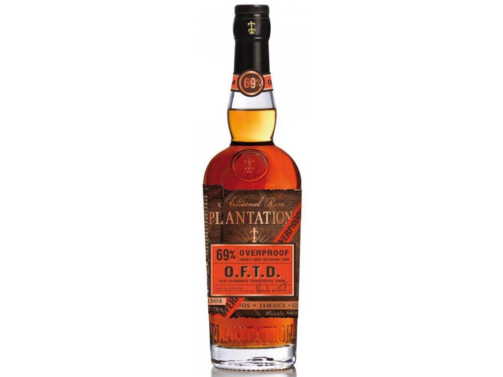 Plantation OFTD Artisanal Rum, 69 %, 0,7l