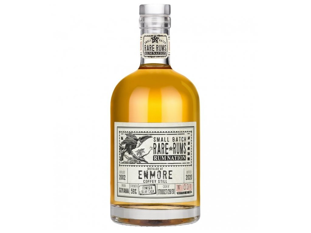 Rum Nation Enmore Kfm Islay Cask 2002-2020, 59%, 0.7l