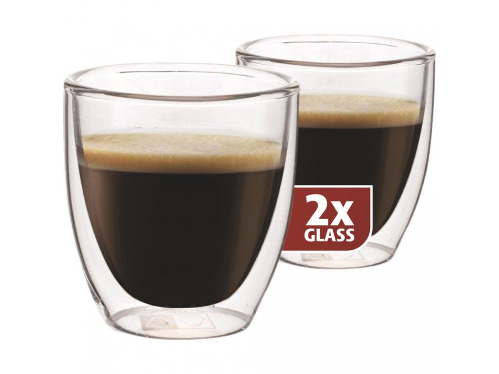 "Termo poháre MAXXO ""Espresso"" 2x 80ml"