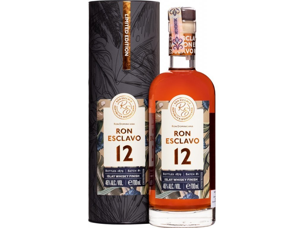 esclavo 12yo islay whisky finish 07l 46 slainte