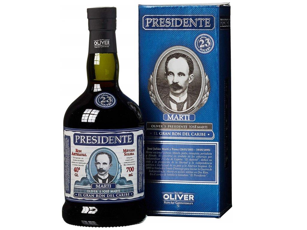 Presidente Rum 23y 0,7l