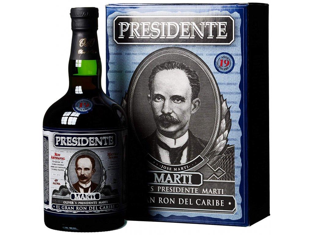 Presidente Rum 19y 0,7l