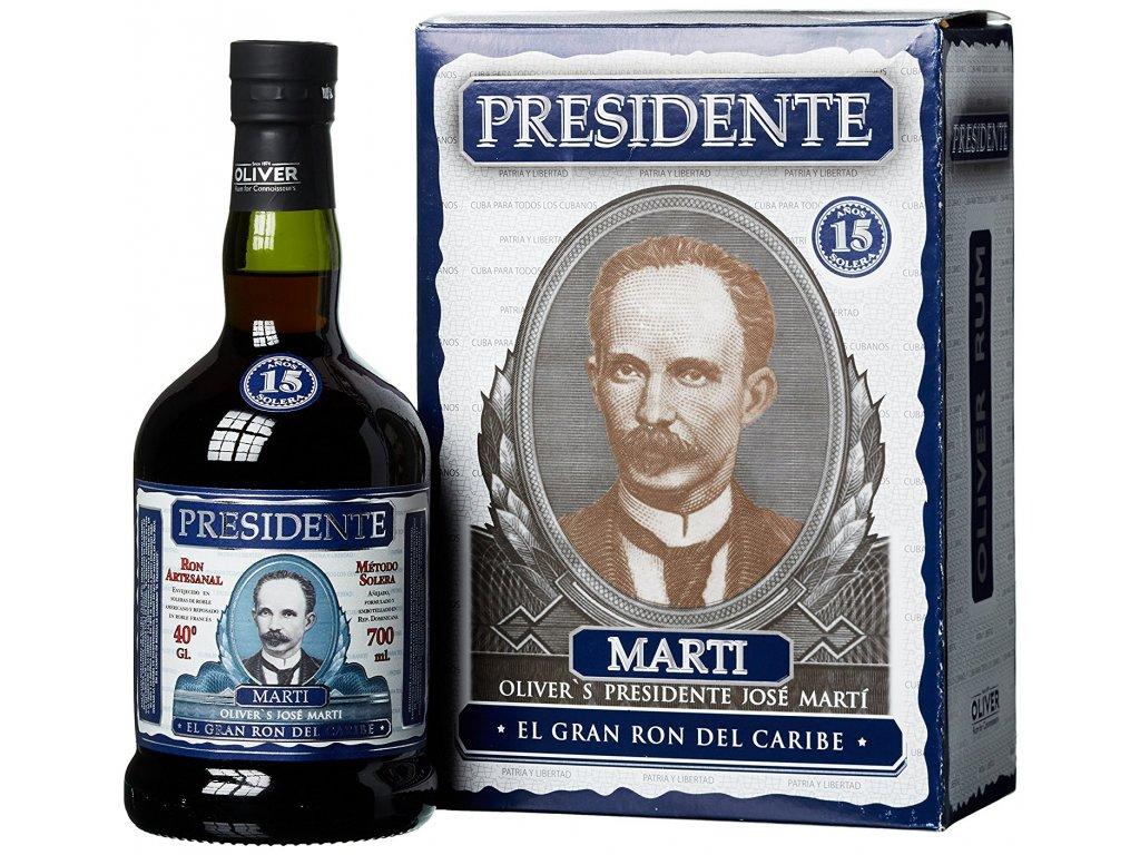 Presidente Rum 15y 0,7l