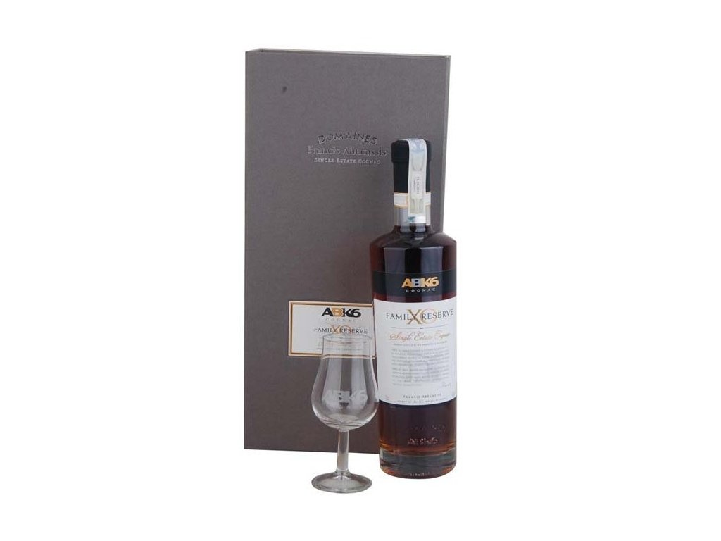 ABK6 Cognac XO Family Reserve 40%, 0,7l + 2pohare