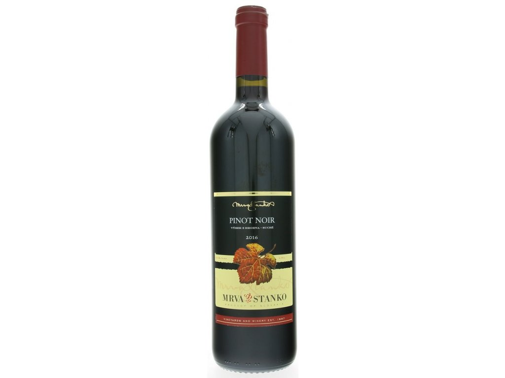 Mrva & Stanko Pinot Noir, Čachtice 2016 0,75L