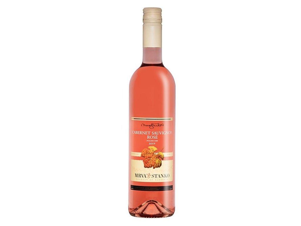 Mrva & Stanko Cabernet Sauvignon rosé, Jasová 2019 0,75L