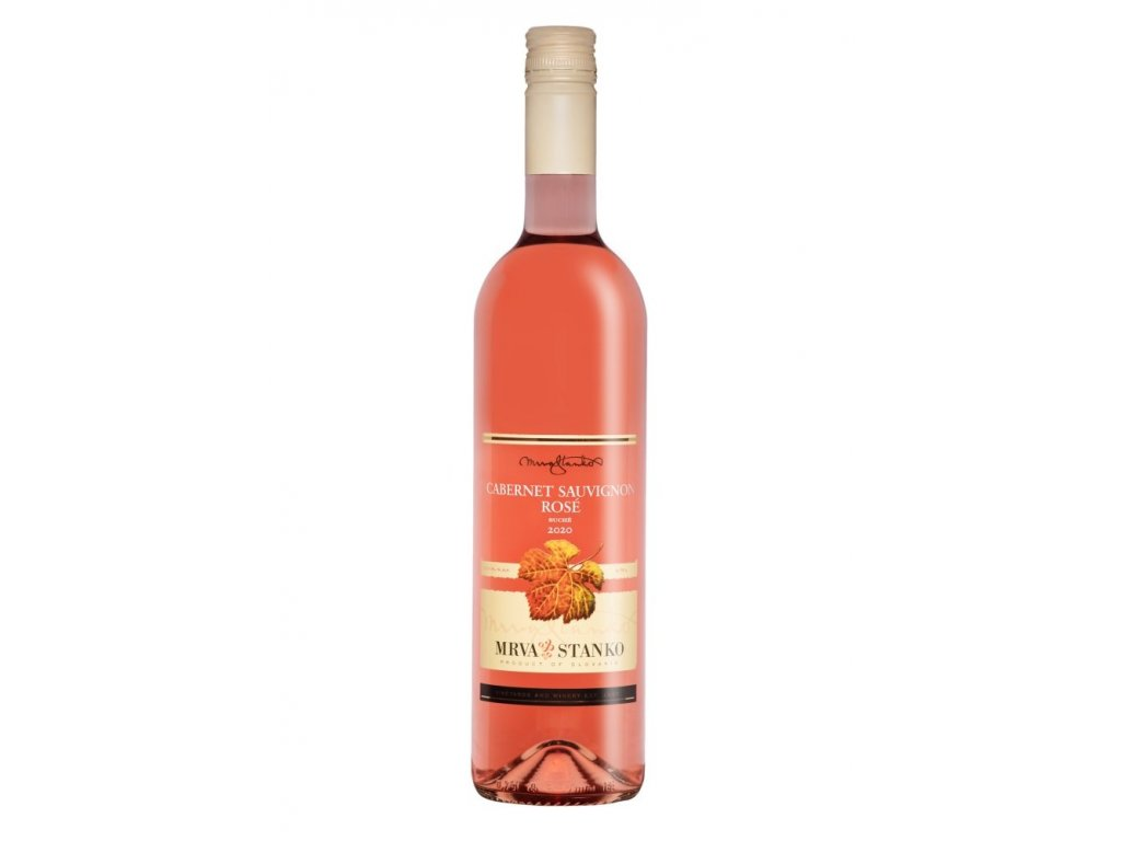 Mrva & Stanko Cabernet Sauvignon rosé, Jasová 2020 0,75L