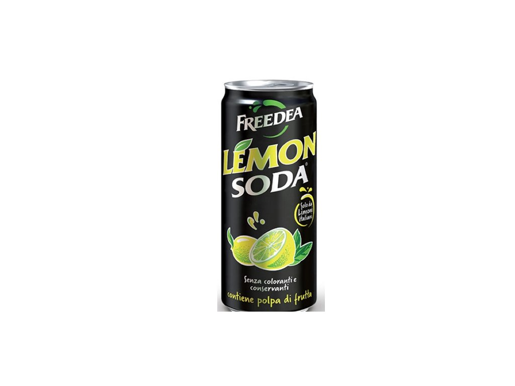 Freedea SODA Lemon 0,33l  x6