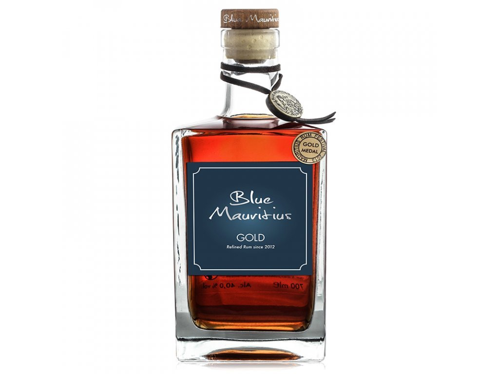 24697 1 blue mauritius gold rum 40 0 7 l alko90 sk