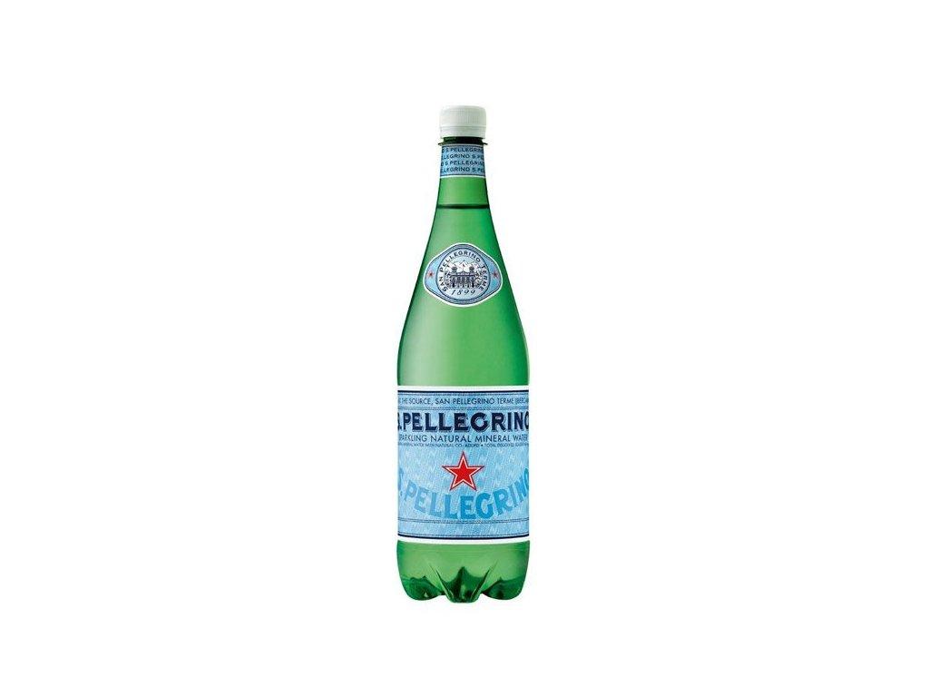 San Pellegrino Minerálna voda, sýtená, 1l x 6