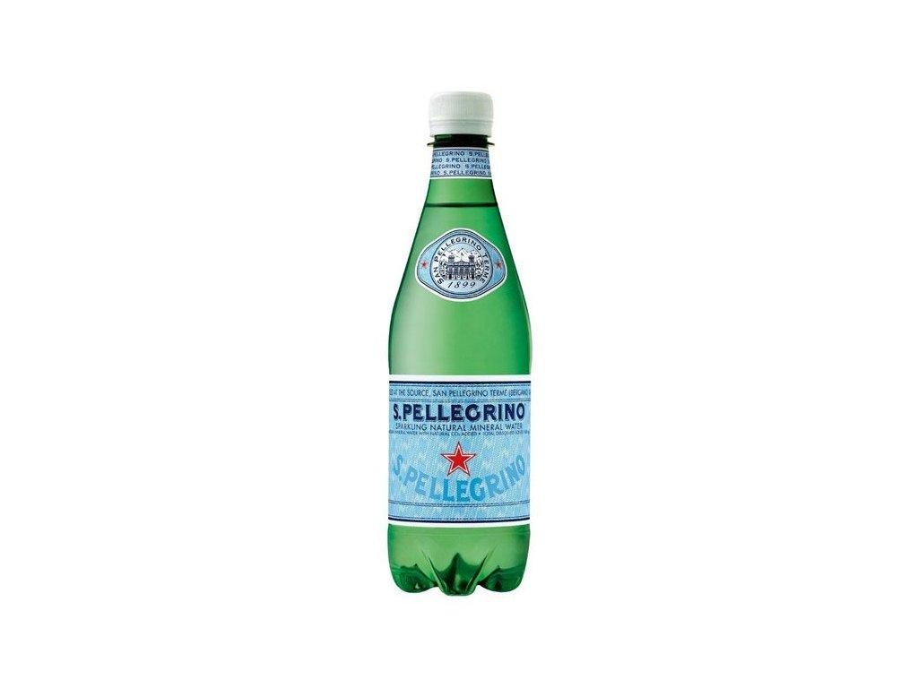 San Pellegrino Minerálna voda, sýtená, 0.5l x 6