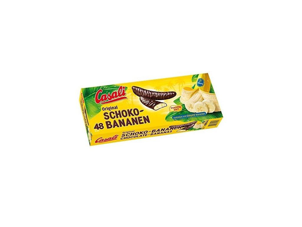 Casali banány v čokoláde 48ks - 600g