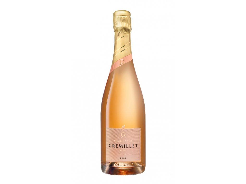 Champagne Gremillet Rosé D'Assemblage Brut, 12,5%, 0.75 L