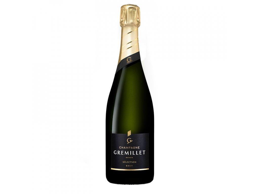 Champagne Gremillet Sélection Brut, 12,5%, 0.75 L