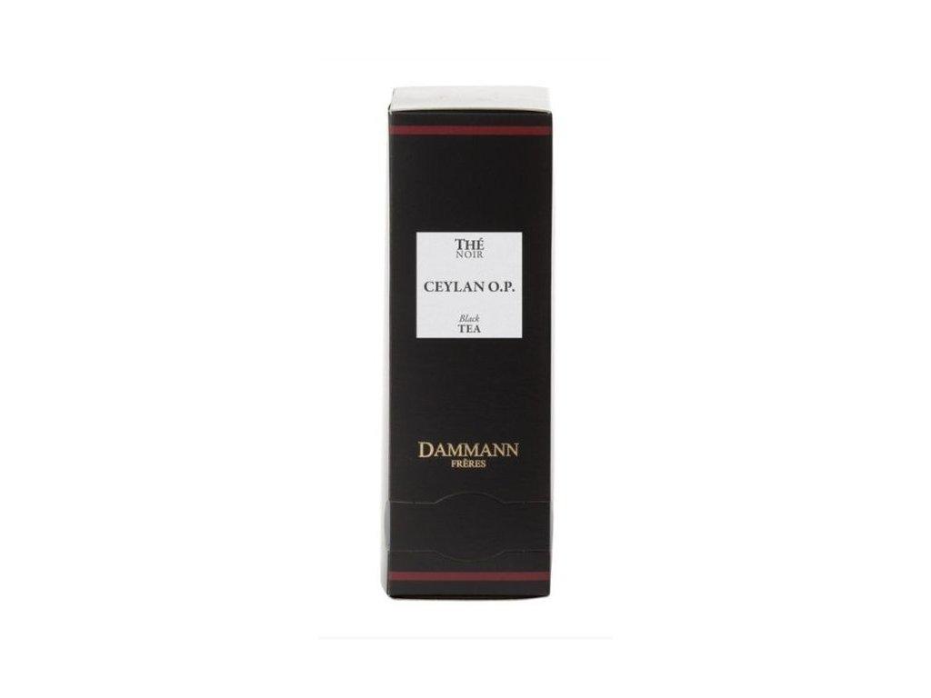 Dammann Fréres Sachets Ceylon O.P., 24 x 2 gr., 4973, čierny čaj, porciovaný, v krištáľových sáčkoch, hygienicky balené
