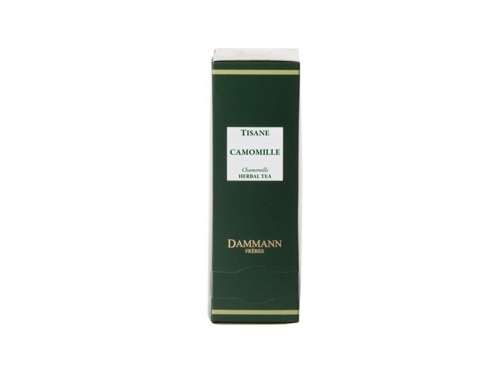 Dammann Fréres Sachets Camomile, 24 x 2 gr. 8056, bylinný čaj, porciovaný, v krištáľových sáčkoch, hygienicky balené