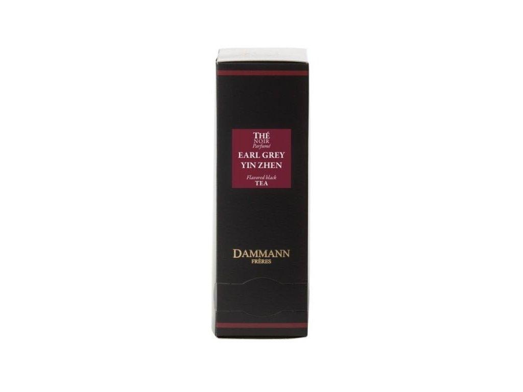 Dammann Fréres Sachets Earl Grey Yin Zhen, 24 x 2 gr., 4972, čierny čaj, porciovaný, v krištáľových sáčkoch, hygienicky balené