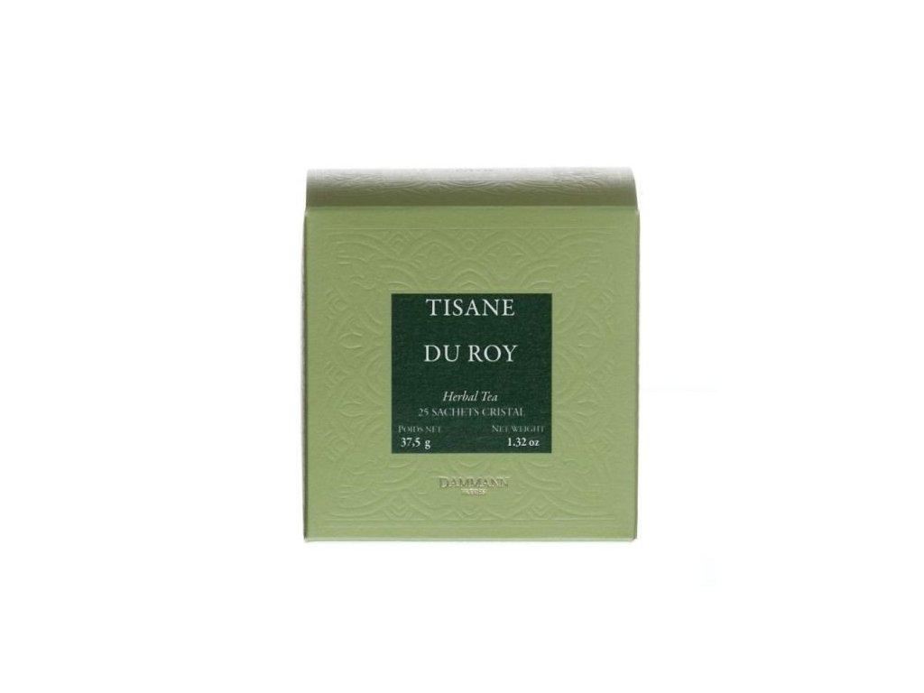 Dammann Fréres Sachets Box Tisane du Roy 25 x 1,5 gr. 3795, bylinný čaj, porciovaný, v krištáľových sáčkoch