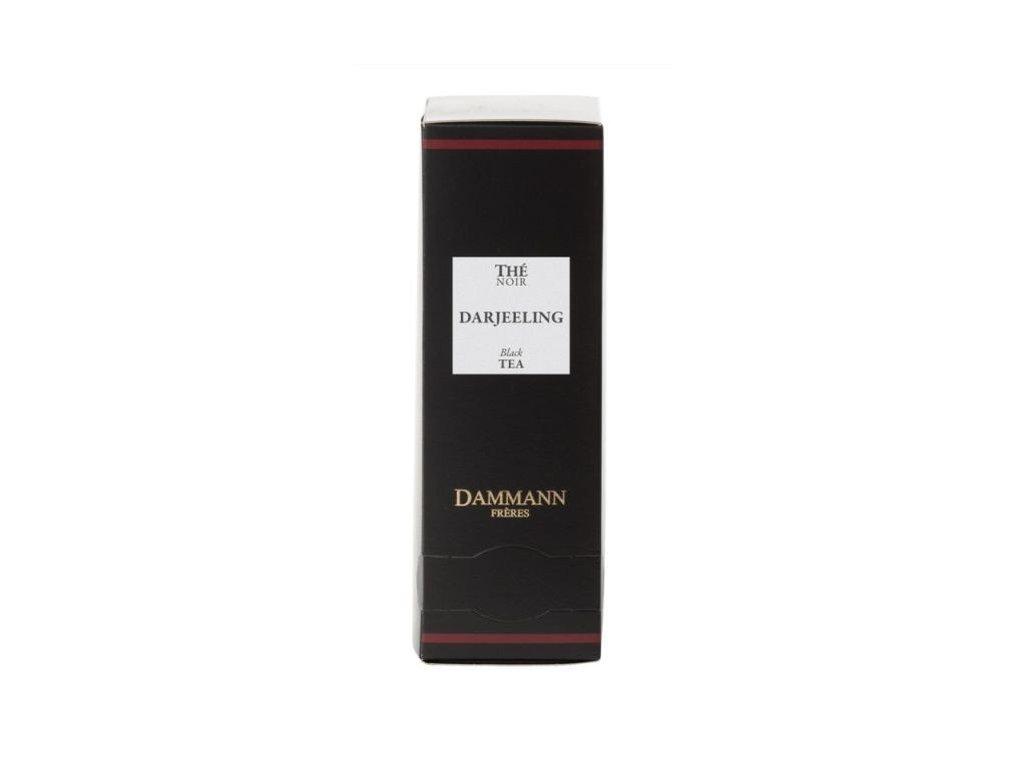Dammann Fréres Sachets Darjeeling, 24 x 2 gr. 4971, čierny čaj, porciovaný, v krištáľových sáčkoch, hygienicky balené