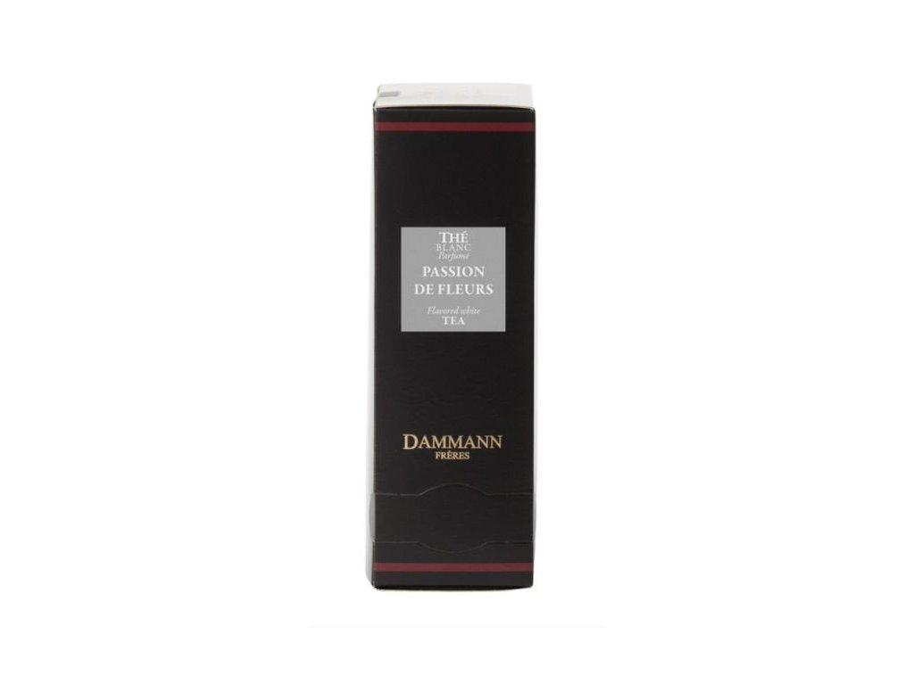 Dammann Fréres Sachets Passion de Fleurs, aromatický, 24 x 2 gr. 4944, biely čaj, porciovaný, v krištáľových sáčkoch, hygienicky balené