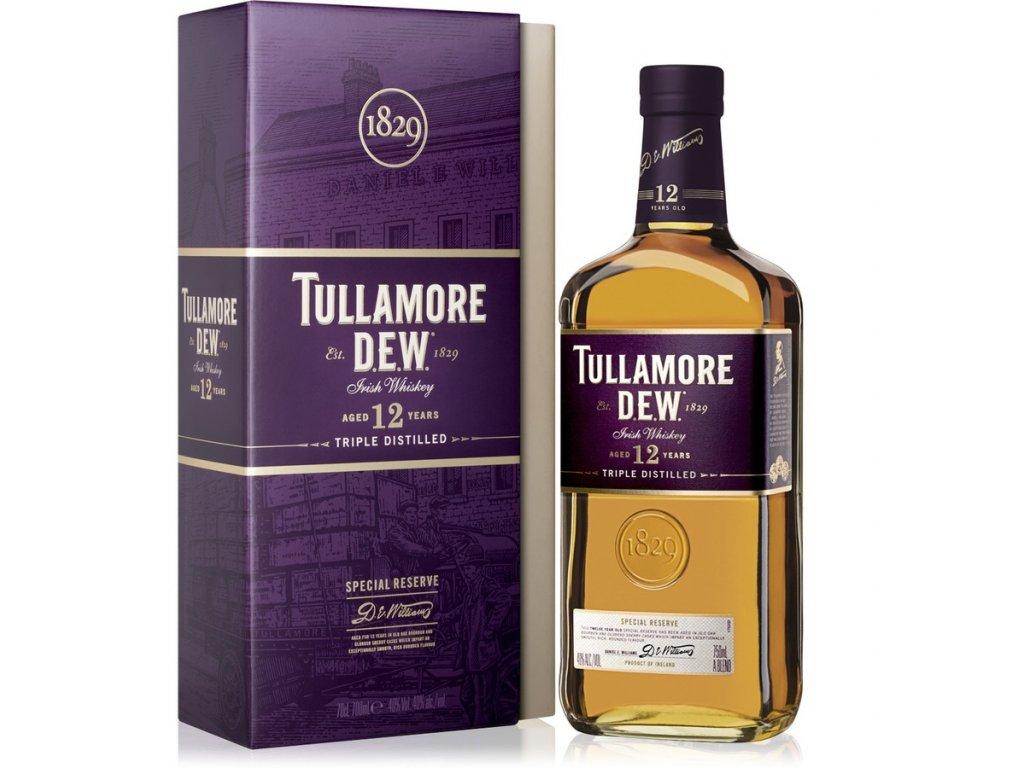 Tullamore Dew 12 ročná 0,7l