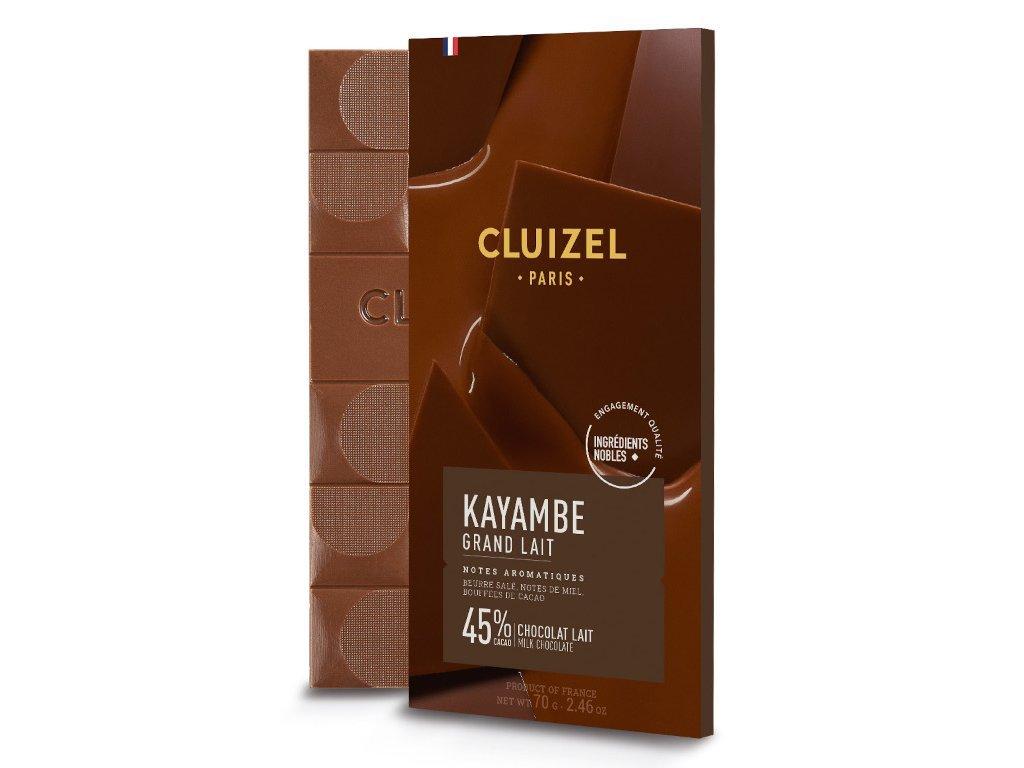 Čokoláda Michel Cluizel Grand Lait 45%