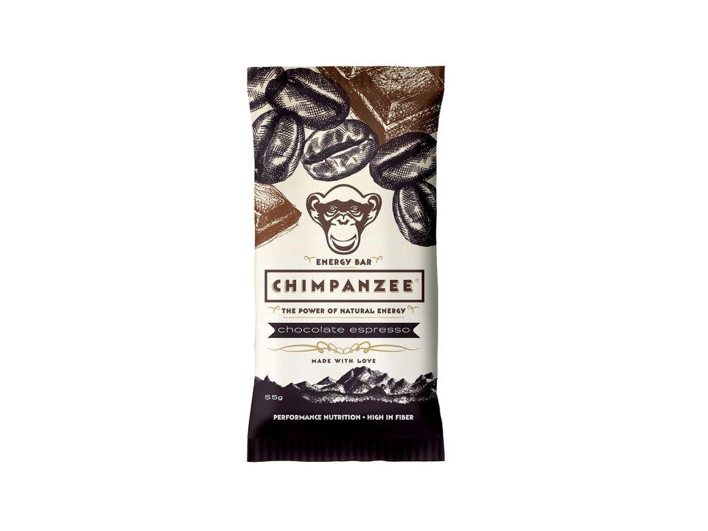 Chimpanzee Energy Bar Chocolatte Espresso 55g