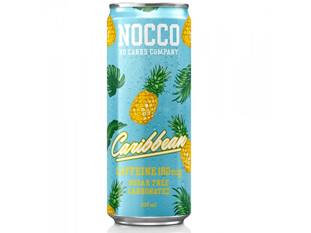 Nocco energy drink a bcaa Caribbean 330 ml