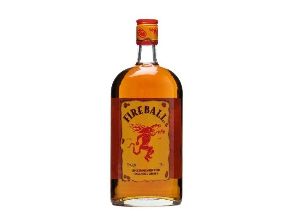 Fireball Cinnamon Whisky Liqueur, 33%, 0.7 L
