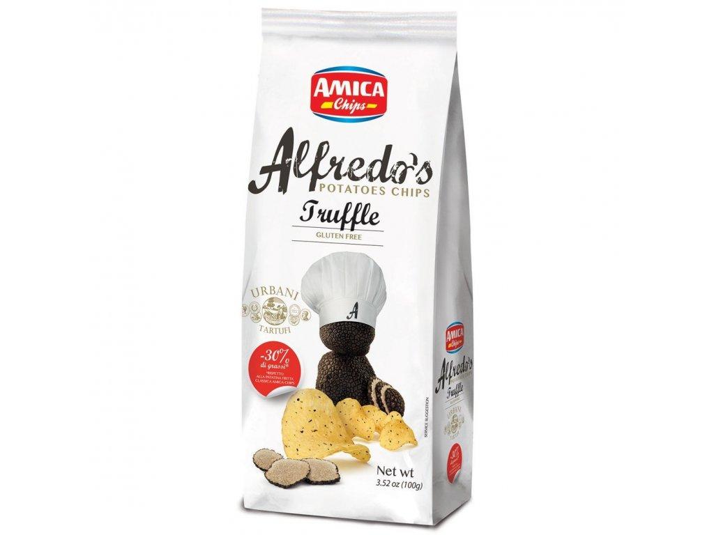 Alfredo´s Truffle chips 150g
