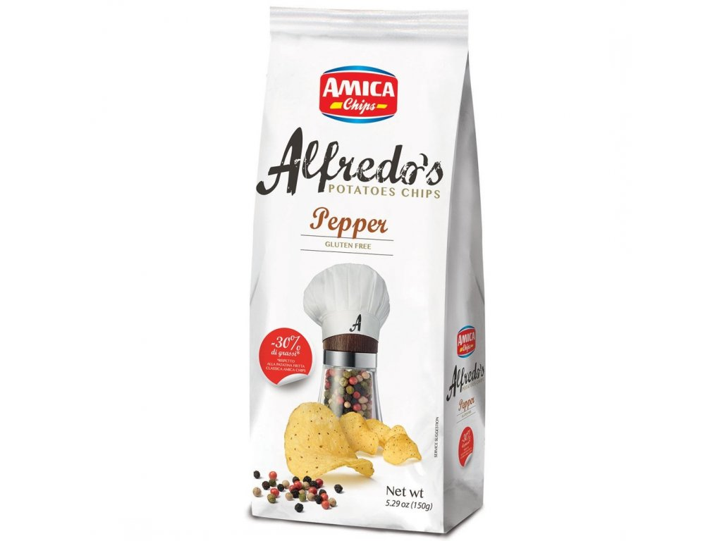 Alfredo´s Pepper chips 150g