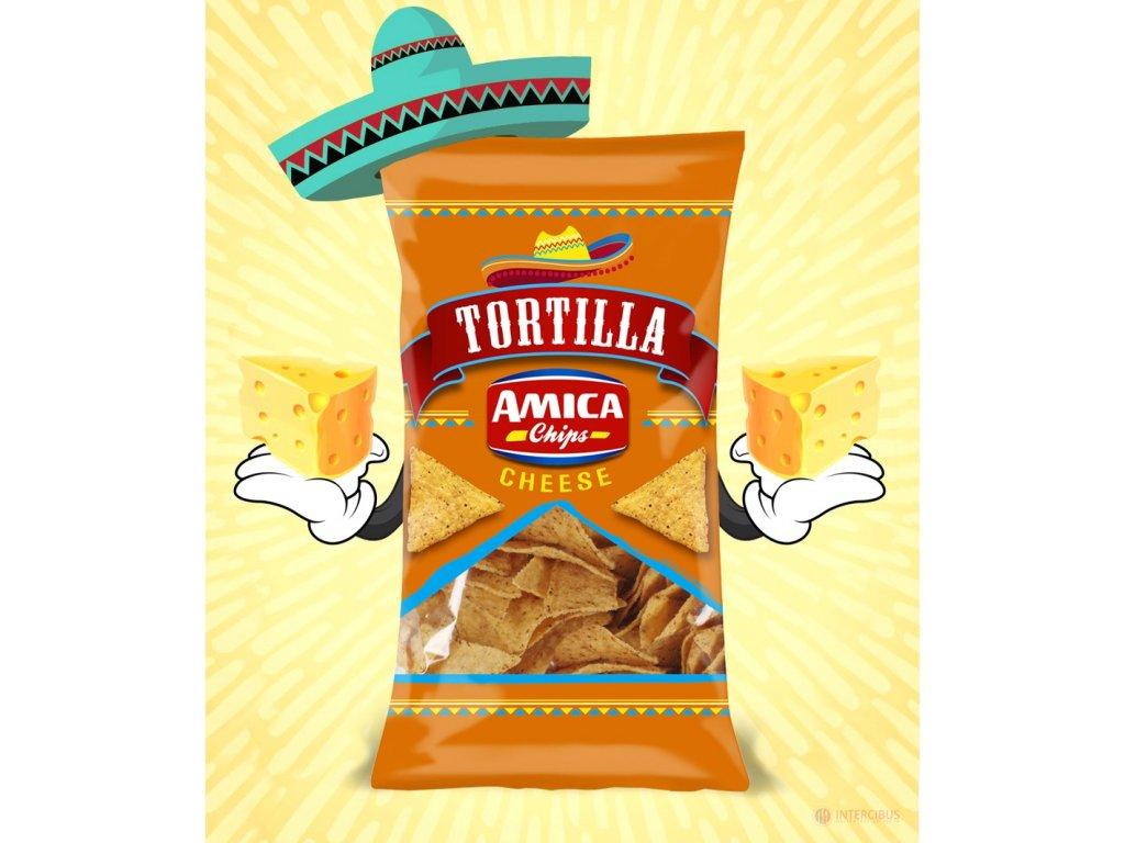 Tortilla chips Cheese 200g
