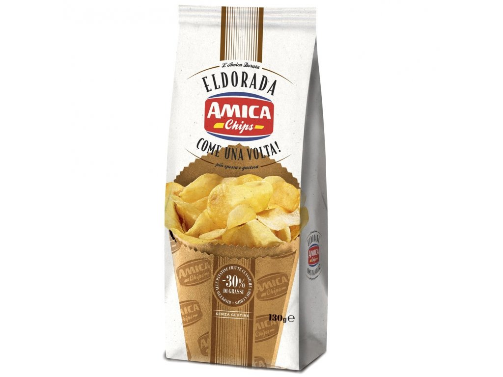 Eldorada Chips salted low fat 130g